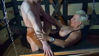 German mature in BDSM