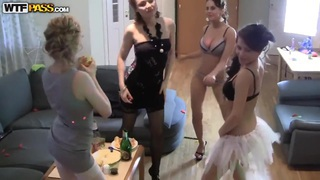 Cofi,Marianna,Olis,Tolina,Venera and Yani in homemade sex