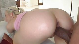 Horny chick Anikka Albrite getting banged