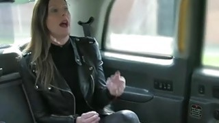 Sexy wife deepthroats and pounded by nasty fraud driver