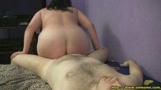Ugly fatso Ramona desires to please a strong hot cock