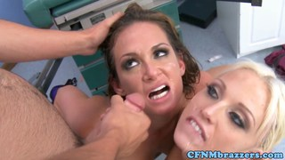 Medical threeway with filthy milf Tory Lane