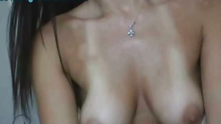 Dirty Talking Webcam Girl Rubs Pussy