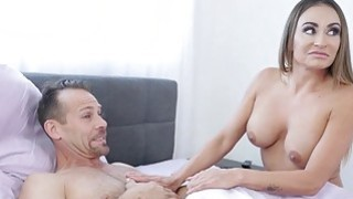 Karlie Brooks goes cock riding on top of Rich