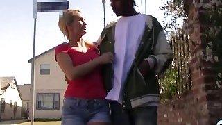 Teen Emily And Milf Nikki Share Black Schlong
