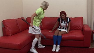 Soccer slut gets punished