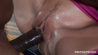 Brutal black dude punishes Brianna Love with his monster cock