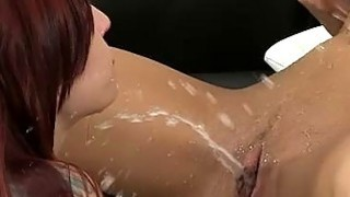 Pissing and dildoing for Leila Smith and Lollypop