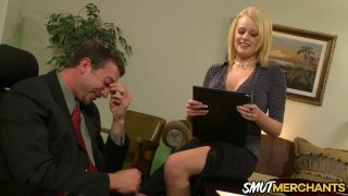 Hot Secretary Codi Cormichael Shows Her Boss Why She Deserves a Raise