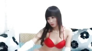 Petite Asian Webcam Girl Rubs Pussy