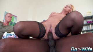 Wife Scarlet Mika pussy railed by BBC