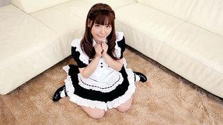 Petite Japanese Servant Maid Fucks Her Master